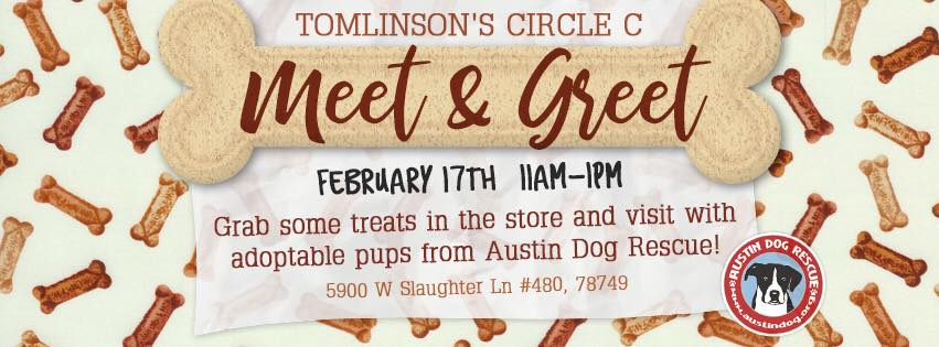 Tomlinsons circle c meet and greet with adr atx social pup tomlinsons circle c meet and greet with adr m4hsunfo