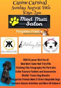 Canine Carnival @ Mod Mutt Salon | Austin | Texas | United States